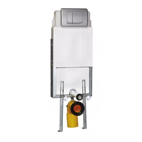 SANOSWIFT falba építhető WC-tartály, függesztett