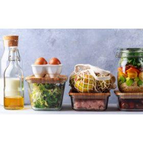 Ételtárolás és -szállítás