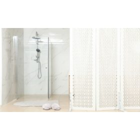 Szögletes zuhanykabinok